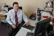 Managing Director Des McCaffrey